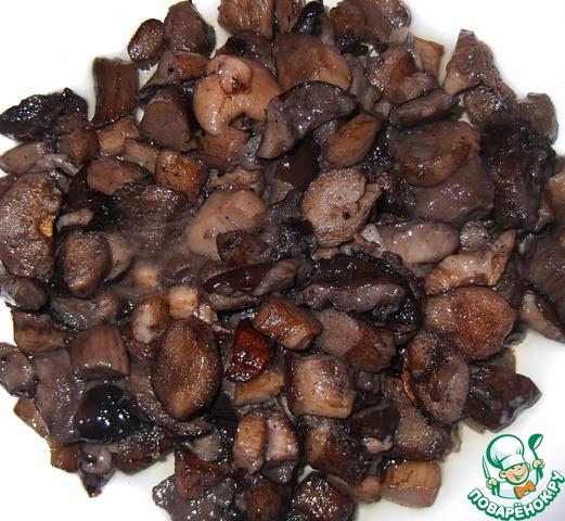 Куриные желудки с катофелем и грибами вкусный пошаговый рецепт приготовления с фотографиями #6