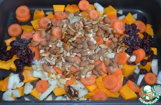 Готовим Овощной паштет из тыквы с орехами простой рецепт приготовления с фото пошагово #2