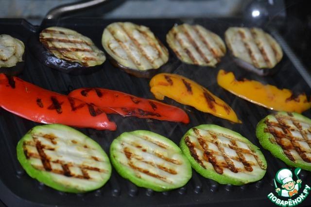 Гриль квартет с креветками простой рецепт приготовления с фото #4