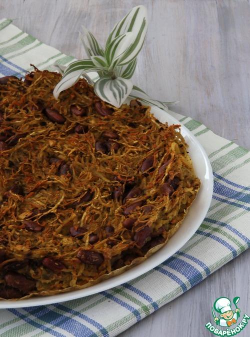 Как приготовить домашний рецепт приготовления с фото Овощная запеканка с фасолью #8