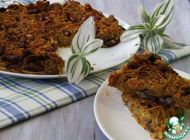 Как приготовить домашний рецепт приготовления с фото Овощная запеканка с фасолью #7