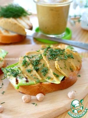 Рецепт Нутово-овощной паштет
