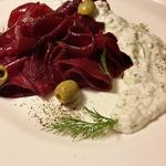 Свекольный карпаччо-салат