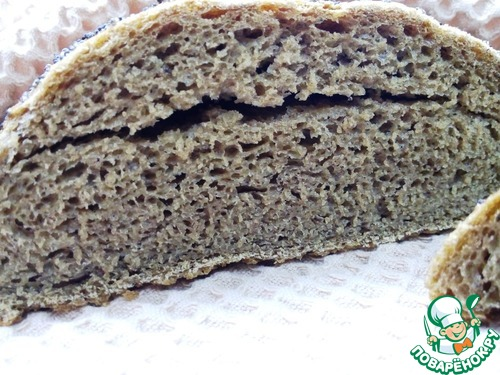 Как приготовить Ржаной хлеб с кофе и перцем домашний рецепт приготовления с фотографиями пошагово #11