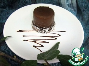 Вкусный рецепт приготовления с фото Шоколадные мини-чизкейки