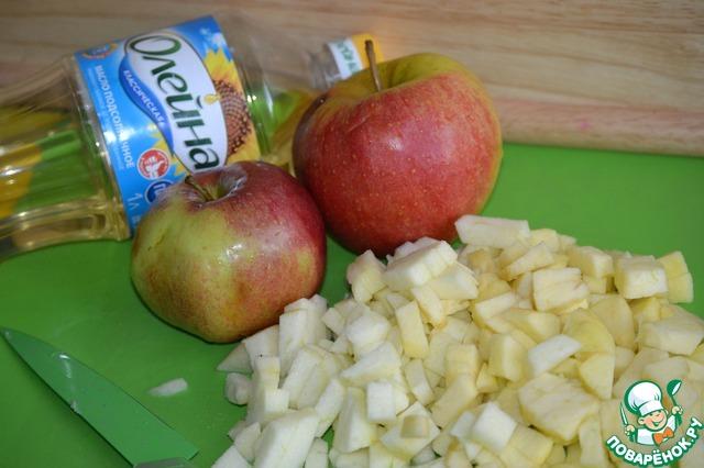 Необычные блинчики с яблоками вкусный пошаговый рецепт приготовления с фотографиями как готовить #2