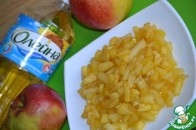 Необычные блинчики с яблоками вкусный пошаговый рецепт приготовления с фотографиями как готовить #4