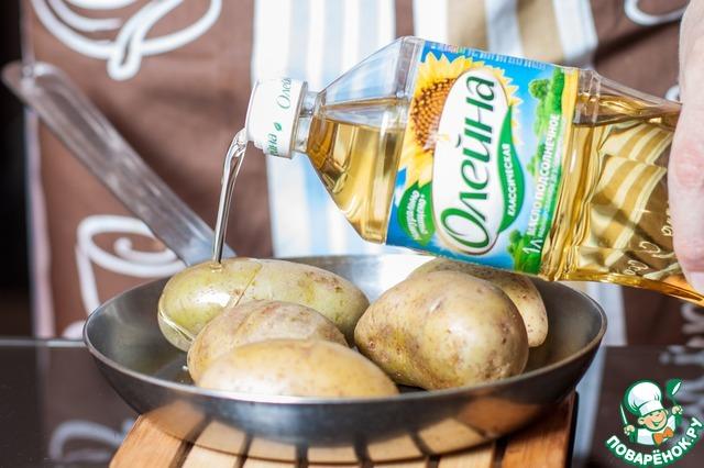 Готовим домашний рецепт приготовления с фото Лодочки из печеного картофеля #2