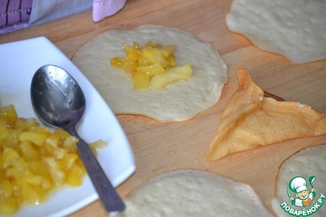 Необычные блинчики с яблоками вкусный пошаговый рецепт приготовления с фотографиями как готовить #8