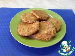 Рецепт Куриные котлеты в вафельных коржиках
