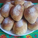Творожные булочки с начинкой