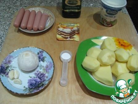 Картофельные драники с сосисками домашний пошаговый рецепт приготовления с фото как готовить #1