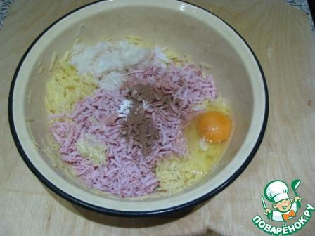 Картофельные драники с сосисками домашний пошаговый рецепт приготовления с фото как готовить #3