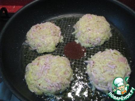 Картофельные драники с сосисками домашний пошаговый рецепт приготовления с фото как готовить #5