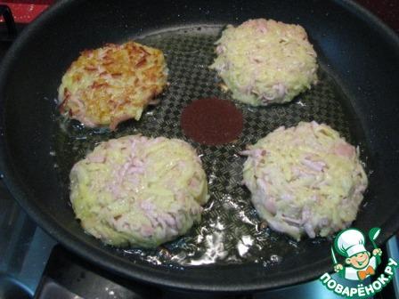 Картофельные драники с сосисками домашний пошаговый рецепт приготовления с фото как готовить #7