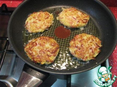 Картофельные драники с сосисками домашний пошаговый рецепт приготовления с фото как готовить #8