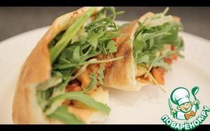 Рецепт Необыкновенно вкусный сэндвич с курицей