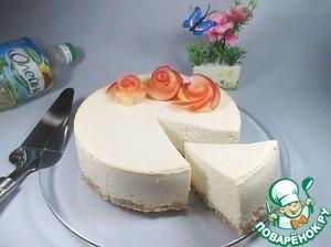 Рецепт Диетический яблочно-творожный чизкейк