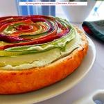 """Провансальский пирог """"Овощная спираль"""""""