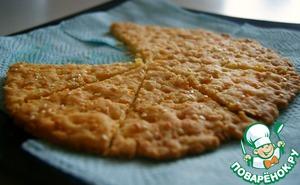 Как приготовить домашний рецепт с фото Сырные крекеры с чесноком