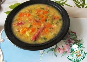 Рецепт Немецкий суп из чечевицы