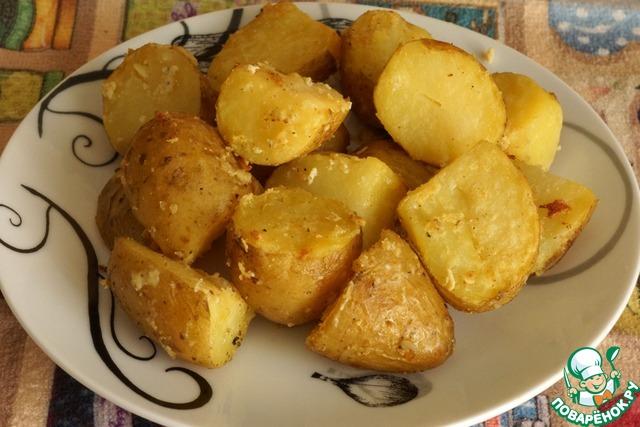 Фарш с помидорами грибами и сыром в духовке рецепт