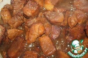 Рецепт Румяная свинина