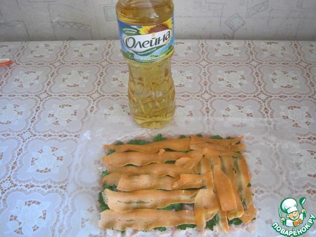 Рецепт приготовления с фото Рулет из куриного филе #5