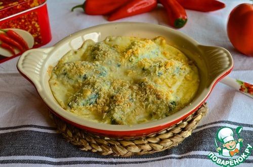 Как приготовить Клецки из творога со шпинатом вкусный рецепт с фото #12