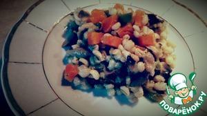 Рецепт Перловая каша с овощами