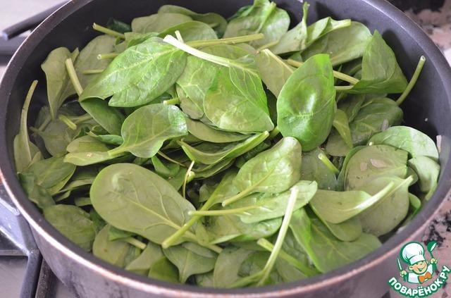 Как приготовить Клецки из творога со шпинатом вкусный рецепт с фото #3