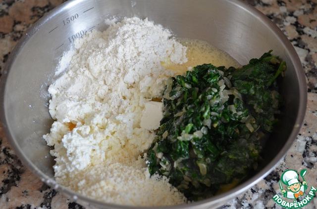 Как приготовить Клецки из творога со шпинатом вкусный рецепт с фото #5