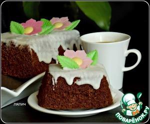 Рецепт Быстрый шоколадный кекс в микроволновке