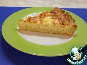 Как приготовить простой рецепт с фото Сырный пирог