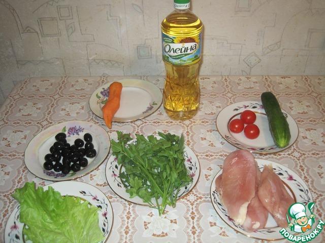 Рецепт приготовления с фото Рулет из куриного филе #1