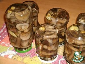 фото: заготовка грибов