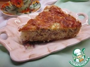 Рецепт Пирог с капустой и мясным фаршем