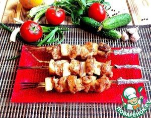Рецепт Куриные шашлычки с ананасом