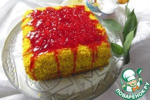 Рецепт Морковно-лимонный торт