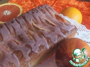 Рецепт Кекс с красными апельсинами и глазурью