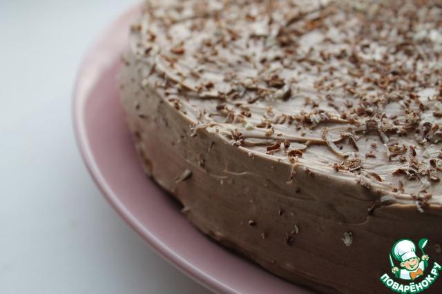 Торт негр с черничным вареньем фото 5