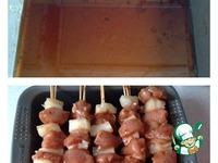 Куриные шашлычки с ананасом ингредиенты