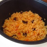 Рис с овощами и изюмом в мультиварке