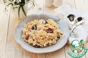 Рецепт Сливочная паста с курицей и вялеными томатами