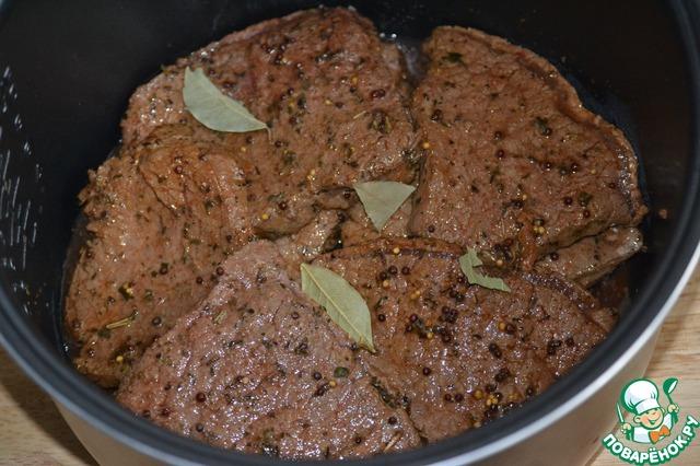 Блюда из телятины в мультиварке