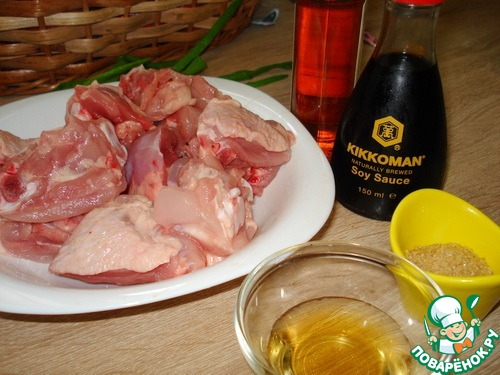 Рецепт шашлык курица