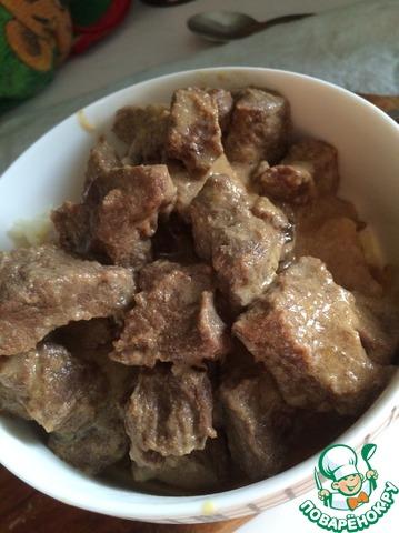 Изюбрятина в мультиварке рецепт приготовления с фотографиями пошагово как приготовить #4