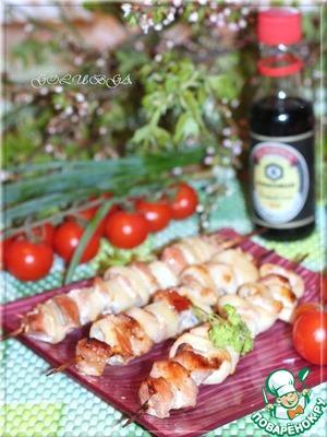 Рецепт Шашлык из свинины с луком