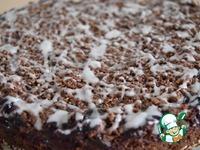 Шоколадно-вишнёвый пирог со штрейзелем ингредиенты