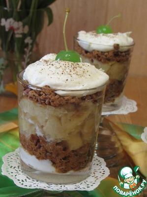Рецепт Десерт с пряниками